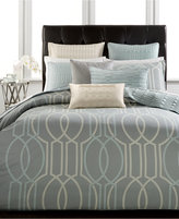 Hotel Collection Modern Interlace Full/Queen Duvet Cover