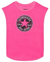 Converse Neon Pink Printed Chuck Patch Tee
