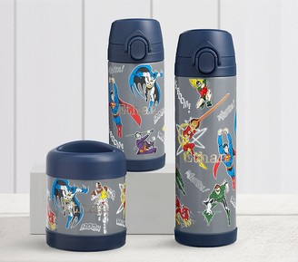 Pottery Barn Kids Justice League Glow-in-the-Dark Hot & Cold Container