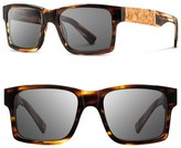 Shwood 'Haystack' 52mm Polarized Wood Sunglasses