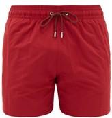 Apnee - Uni High-cut Shell Swim Shorts - Mens - Burgundy