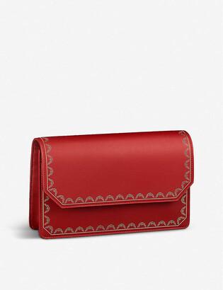 Cartier Guirlande de leather wallet-on-chain