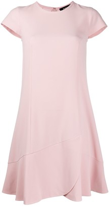Paule Ka Asymmetric Shift Dress