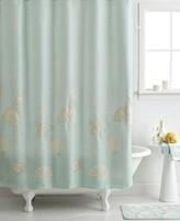 """Avanti Bath, Sequin Shells 72"""" x 72"""" Shower Curtain"""