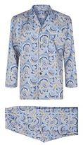Daniel Hanson Silk Twill Paisley Pyjamas