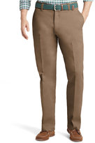 Izod Saltwater Classic-Fit Flat Front Chino Pants