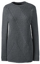 Classic Women's Tall Lofty Ribbed Tunic Sweater-Vicuna Heather