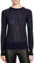 DKNY Pinstripe Merino Wool Sweater