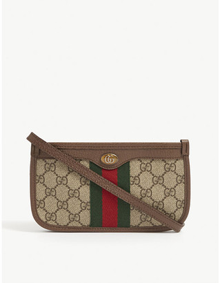 Gucci Ophidia canvas mini shoulder bag