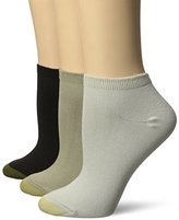 Gold Toe Women's Ultra Soft Le Grand No Show Sock 3-Pack
