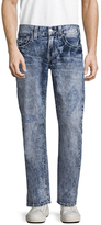True Religion W Flaps Big T Straight Fit Jeans