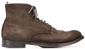 Officine Creative Anatomia Derby boots