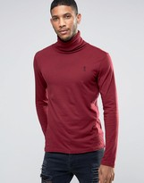 Religion Long Sleeve Jersey Roll Neck
