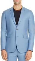 Paul Smith Light Blue Soho Slim Fit Travel Suit Separate Sport Coat