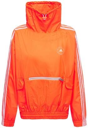 Stella McCartney Oversize Tech Nylon Sweatshirt