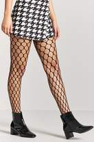 Forever 21 Honeycomb Fishnet Tights