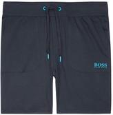 Boss Navy Cotton Shorts