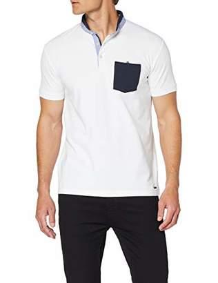 Esprit Men's 039EE2K004 Polo Shirt, White 100, L