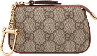 Gucci GG Supreme key pouch