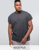 Asos PLUS Oversized T-Shirt in Heavy Weight