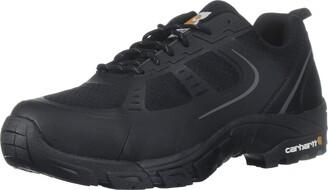 Carhartt Men's CMO3251 Men's Lightweight Steel Toe Low Black Work Hiker