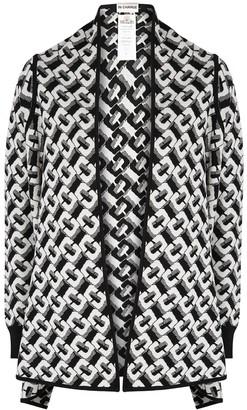 Diane von Furstenberg Taya monochrome merino wool cardigan