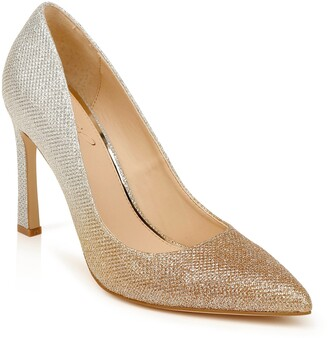 Badgley Mischka Freida Crystal Embellished Pump