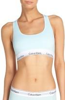 Calvin Klein Women's 'Modern Cotton Collection' Cotton Blend Racerback Bralette