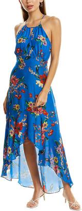 Parker Davina Silk-Blend Maxi Dress