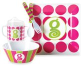 Mud Pie Letter Feeding Set