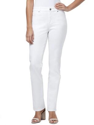 Bandolino Women's Misses Mandie Signature Fit 5 Pocket High Rise Straight Jean