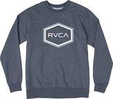 RVCA Men's Double Hex Crew Sweatshirt