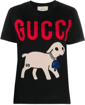 Gucci lamb-printed T-shirt
