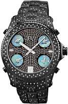 JBW Men's Jet Setter Diamond Chronograph Watch, 56mm