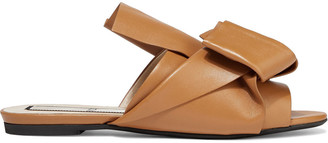 N°21 N21 Knotted Leather Slides