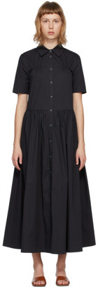 STAUD Black Guilia Dress