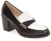 Cole Haan Mazie Block Heel Loafer Pump