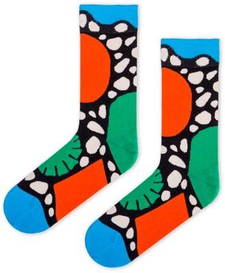 Look Mate London Primordial Socks By Pedro Veneziano