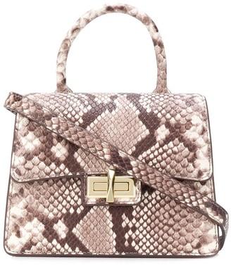 DKNY Jojo leather mini satchel