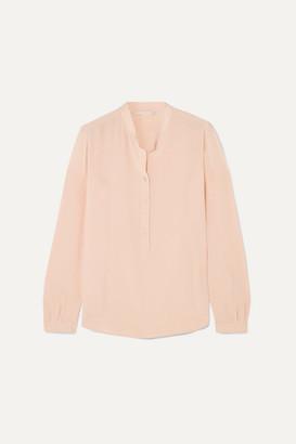 Stella McCartney Eva Silk Crepe De Chine Blouse - Peach