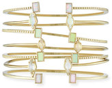 Kendra Scott Kinsley Bracelet Set in Yellow Gold Plate
