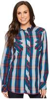 Roper 1253 Cider Check Women's Long Sleeve Pullover