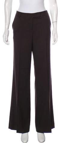 Calvin Klein Houndstooth Flared Pants