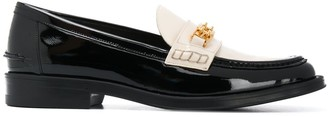 Bally Two-Tone Loafers