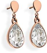 Tamaris Women's Earrings Stainless Steel with Silver Zirconia-Amy A00241010