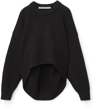 Collection Draped Back Pullover