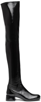 Prada Over-The-Knee Leather Boots