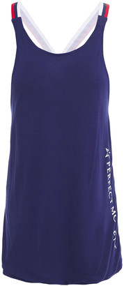 Perfect Moment Printed Stretch-jersey Tank