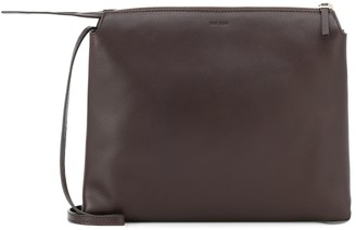 The Row Nu Twin Small leather crossbody bag