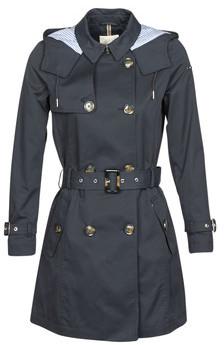 Esprit CLASSIC TRENCH women's Trench Coat in Black